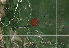 Sismo de magnitud 4,5 se reportó esta mañana en Amazonas