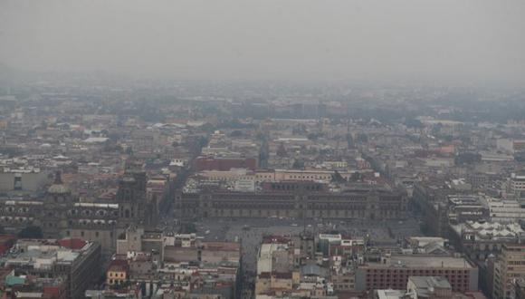 Vientos que llegan a CDMX traen partículas de incendios, afirman; expertos señalan que no mejorará la calidad del aire ni aunque llueva. (Foto: El Universal)