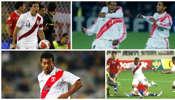 Perú vs. Chile: 5 golazos para recordar ante 'La Roja' [VIDEO]