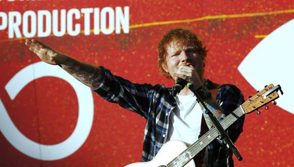 Ed Sheeran batió récord de reproducciones en Spotify