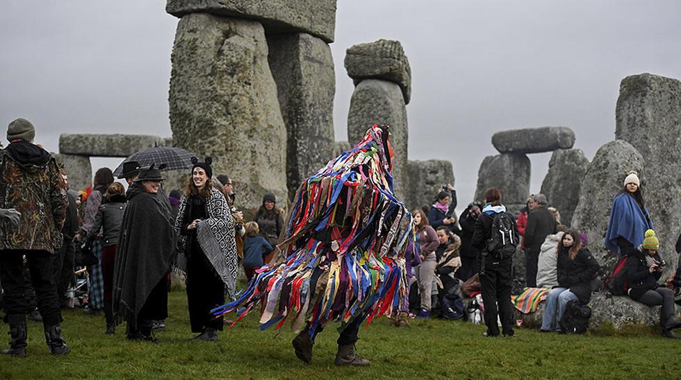 La curiosa celebración del solsticio de invierno en Stonehenge - 3