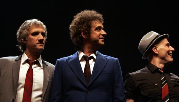 Charly Alberti, Gustavo Cerati y Zeta Bosio. (Foto: AP)