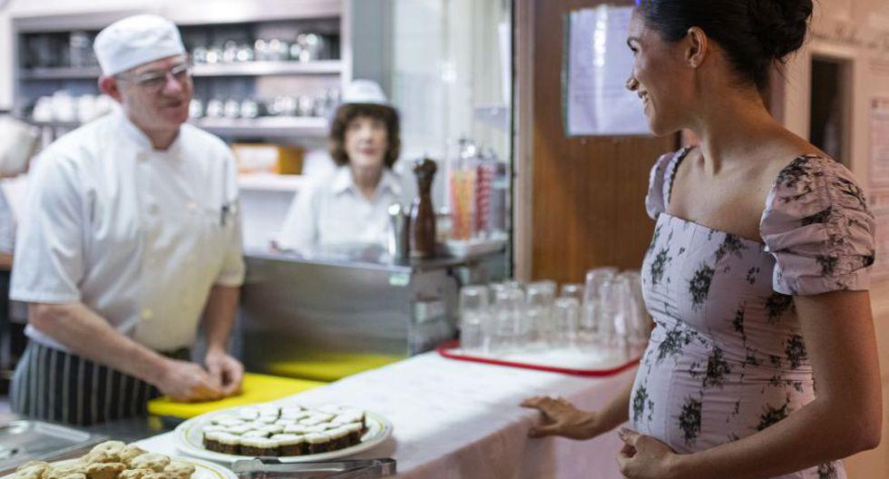 Luego de 6 meses de gestación la Duquesa de Sussex anuncia su embarazo. (Foto: AFP)
