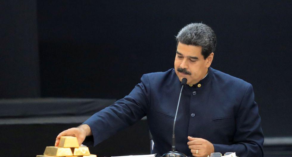 Nicolás Maduro vendió 7,4 toneladas de oro venezolano en África, según el Wall Street Journal. (Reuters).