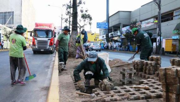 La Victoria: comenzó restauración total de la Av. Mánco Cápac