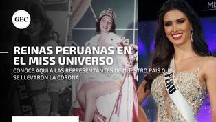 Las reinas de belleza peruanas que llegaron al Top 10 del Miss Universo