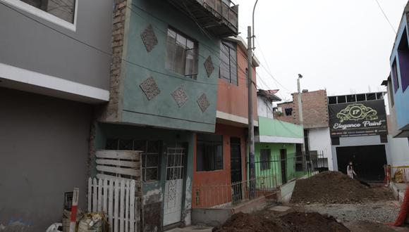 Casas en riesgo en Cercado de Lima (Foto: Anthony Niño de Guzmán / GEC).