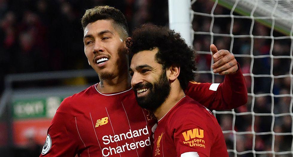 Mohamed Salah es la estrella de Liverpool al mando de Jurgen Klopp. El delantero  es duda para el partido de hoy ante Shrewbury Town. (AFP)