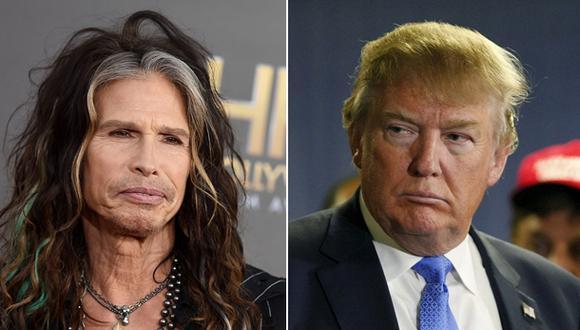 """Steven Tyler pide a Donald Trump no usar """"Dream On"""" en campaña"""