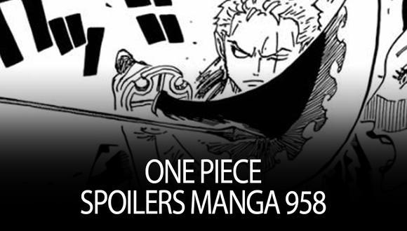 El manga de One Piece llega a un punto clímax en manga 958 del cuál te traemos todos los spoilers . | Shonen