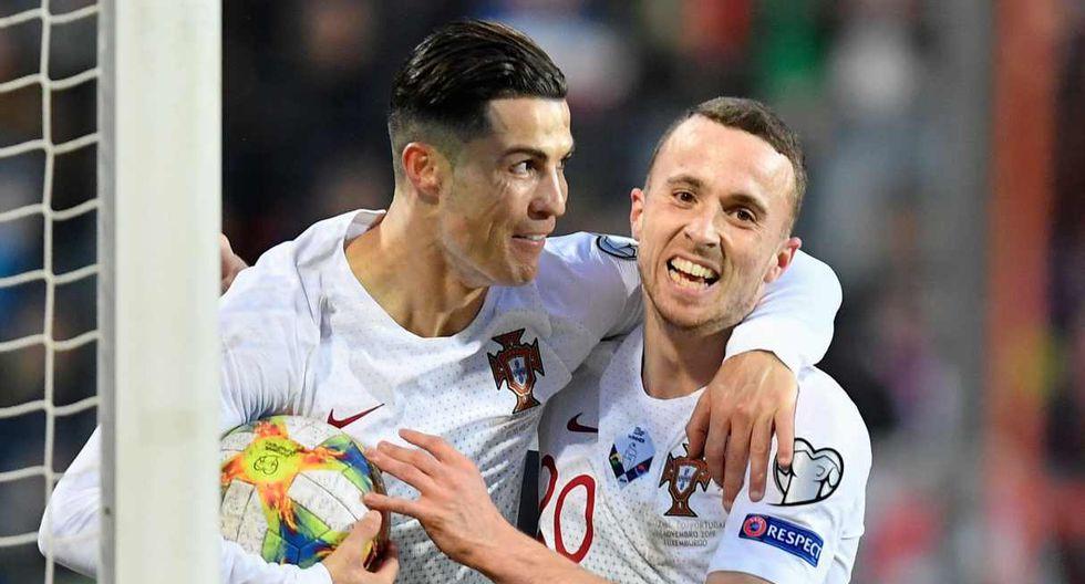 Portugal aseguró su clasificación a la Eurocopa 2020. (Foto: AFP)