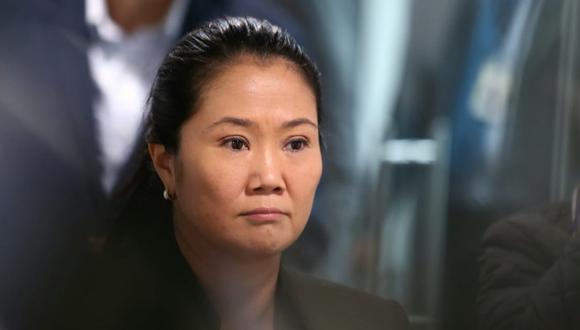 Keiko Fujimori es investigada por presunto lavado de activos. (Foto: Alessadro Currarino / El Comercio)