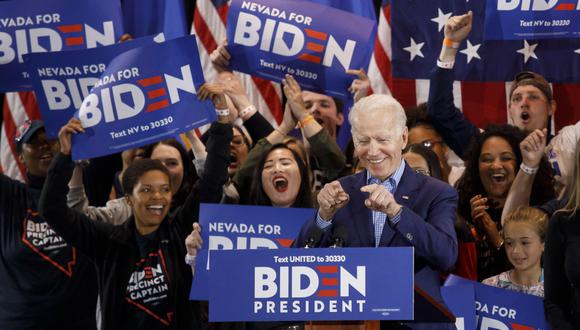 El exvicepresidente Joe Biden.  (FOTO: EFE / EPA / EUGENE GARCIA)