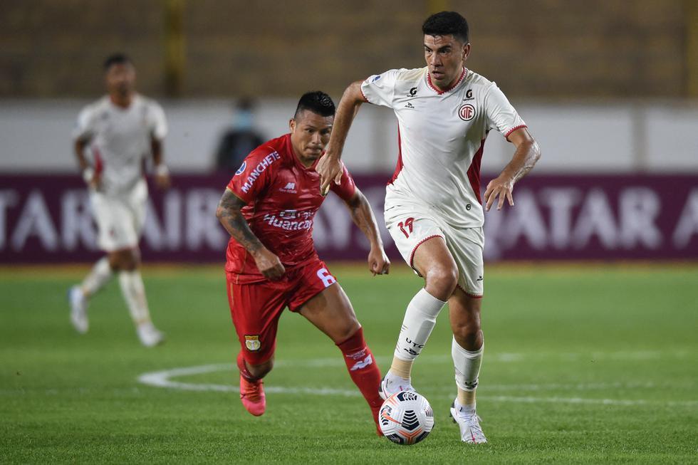 UTC enfrentó a Sport Huancayo por la Copa Sudamericana