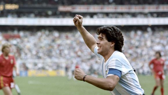 Diego Maradona. (Foto: AFP)