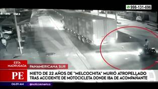 Nieto de 'Melcochita' muere en aparatoso accidente de tránsito