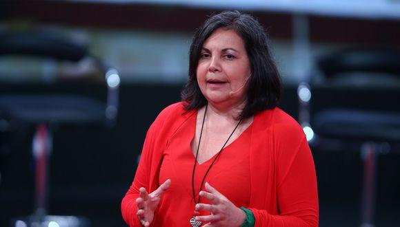 La congresista Rocío Silva Santisteban solicitó se le descuente de su remuneración de julio el monto correspondiente a los gastos de instalación. (Foto: Andina)