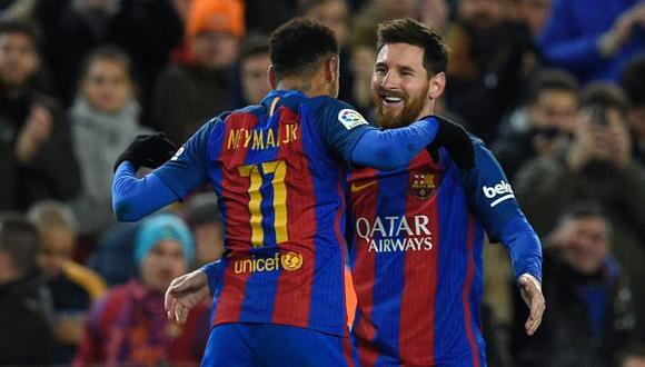 Lionel Messi celebró triunfo del Barcelona en Facebook