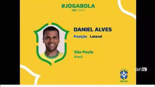 Brasil convoca a Dani Alves para Juegos Olímpicos, mientras Neymar queda por fuera