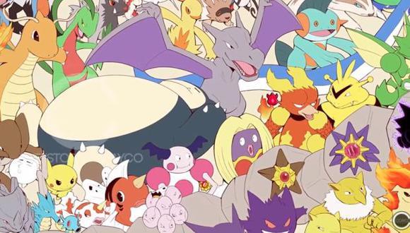 En 2015 Christopher Cayco también dibujó a los 721 pokemones   que existían hasta ese moemnto. (Foto: YouTube)