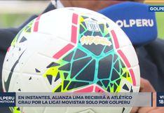 Alianza Lima utilizará una pelota especial frente al Atlético Grau por su aniversario | VIDEO
