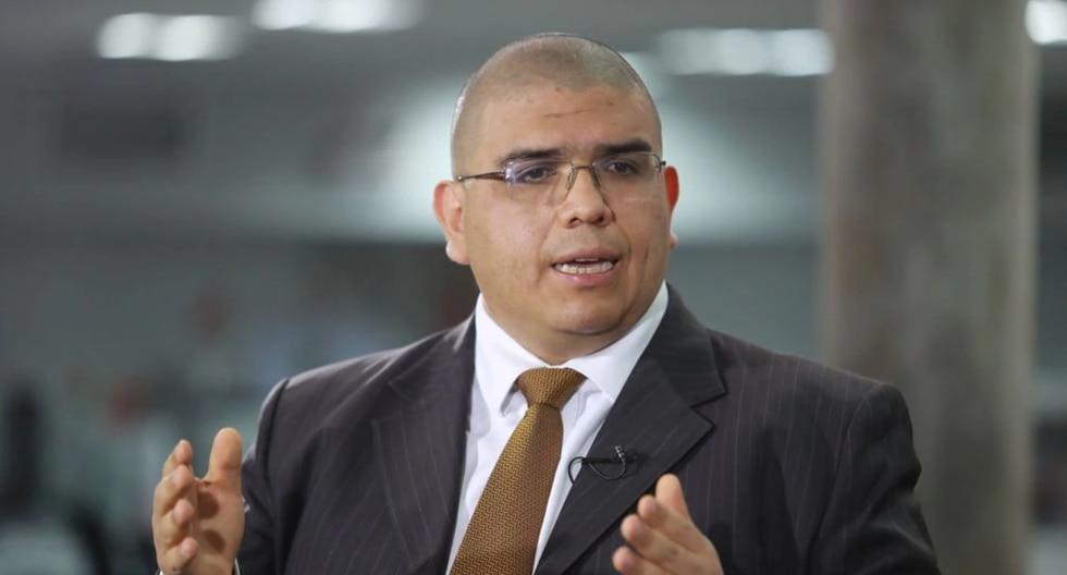 El ministro Fernando Castañeda detalló los motivos para cambiar a la jefatura del INPE durante la emergencia por coronavirus. (Foto: GEC)
