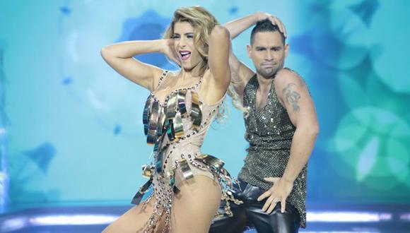 """""""El gran show"""": así fue el primer baile de Viviana Rivas Plata"""