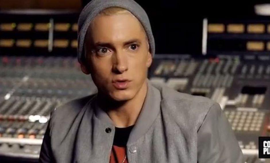 """Eminem se mantiene """"limpio"""". (Foto: Instagram)"""