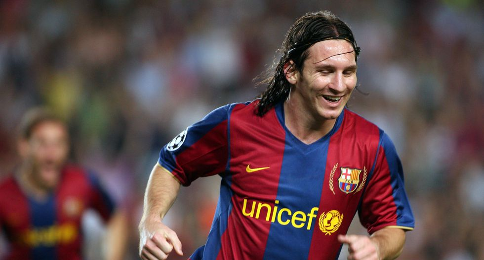 2007/2008: Messi cumplió más de 100 partidos con Barcelona. (Foto: Barcelona)