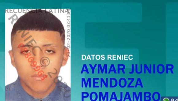 Aymar Junior Mendoza Pomajambo está internado en el hospital. (Foto: Captura/Latina)