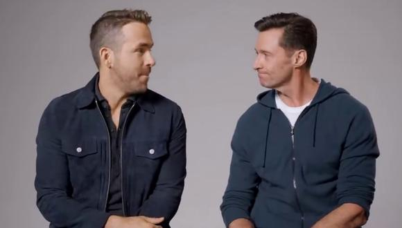 Ryan Reynolds y Hugh Jackman escribieron un capítulo más de su divertida rivalidad con un video que causa sensación en Internet. (Foto: Ryan Reynolds en YouTube)