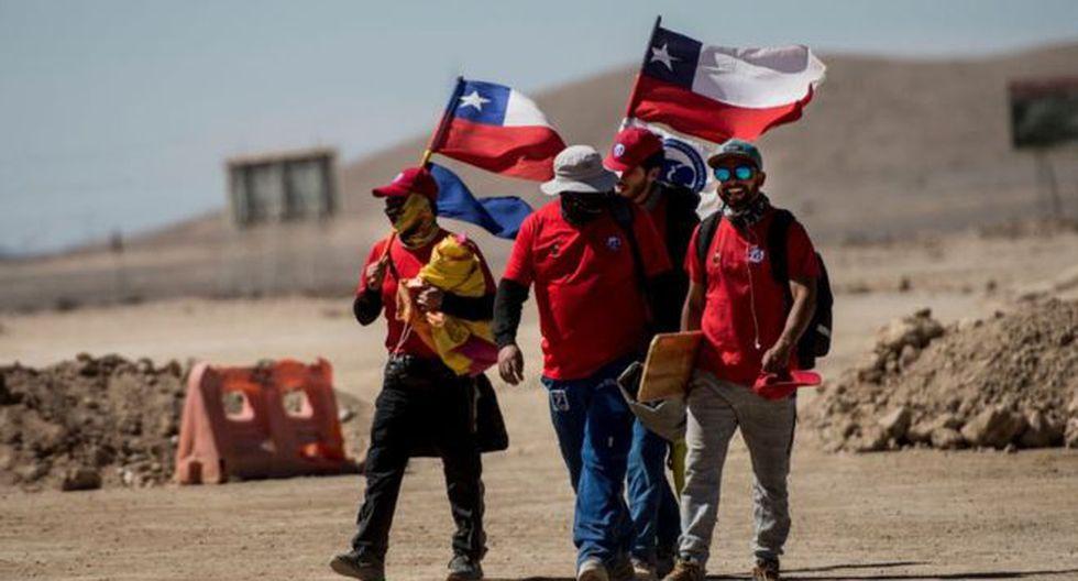Una huelga de mineros en la minera de cobre Escondida en marzo pasado provocó temores en los mercados mundiales de materias primas. (Getty images)