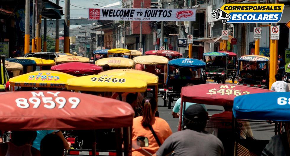 El motocarro es el principal vehículo de la ciudad y causa mucha contaminación auditiva. (Foto: Andina)