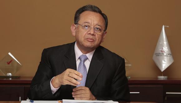 El presidente de la Comisión de Fiscalización, Edgar Alarcón, deberá responder ante dicho grupo por las modificaciones a sus declaraciones juradas cuando laboró en la contraloría (Foto: GEC).
