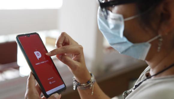 La app Perú en tus manos tuvo hasta la semana pasada 1,5 millones de descargas. (Foto: Andina)