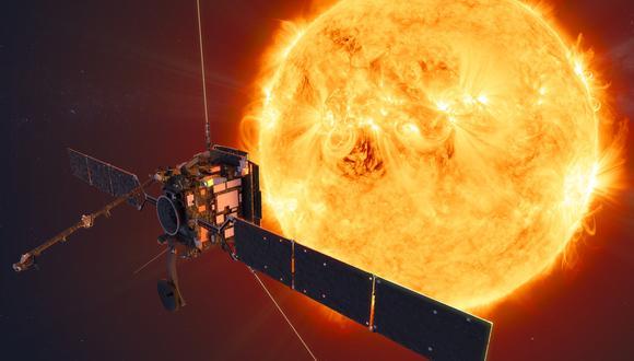 """El solar orbiter se acercará a """"solo"""" 42 millones de kilómetros de nuestra estrella. (Foto: ESA)"""