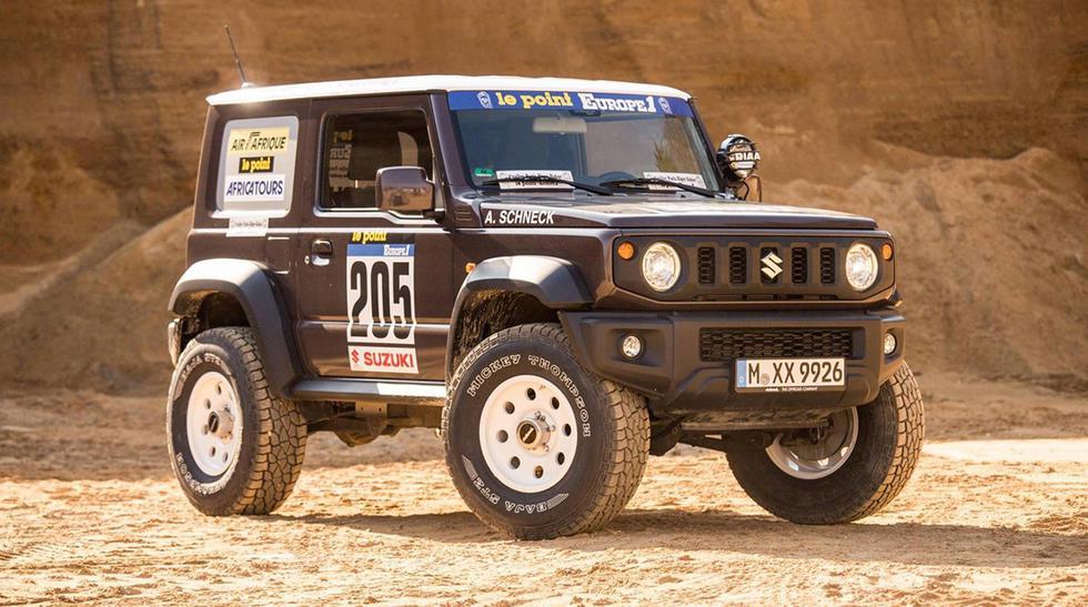 El Suzuki Jimny de Delta 4x4 está inspirado en el modelo LJ80 que participó del Dakar en 1982. (Fotos: Delta 4x4).
