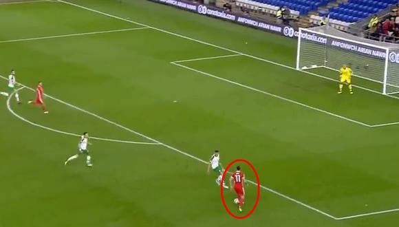 YouTube: Gareth Bale marcó golazo desde fuera del área. (Foto: Captura de video)
