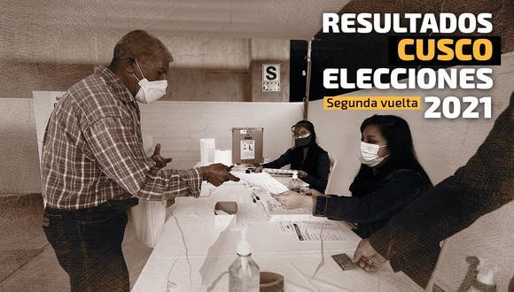 Conoce aquí los resultados electorales en Cusco. (Foto: Diseño GEC)