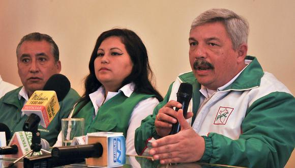 El candidato del PPC, Alberto Beingolea, dijo que el debate alternativo entre Reggiardo y Belmont no asustará al resto. (Foto: Difusión)