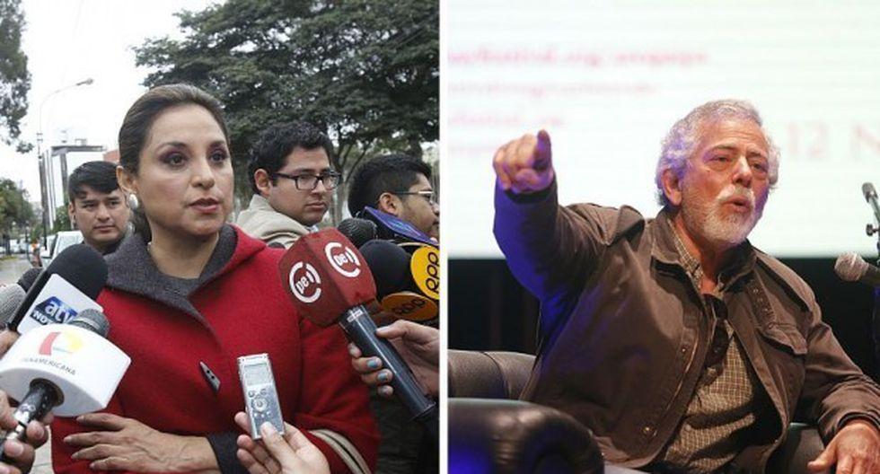 """Periodistas Rosana Cueva, directora de """"Panorama"""", y Gustavo Gorriti, director de IDL-Reportero, fueron citados al Congreso por este caso. (Fotos: El Comercio)"""