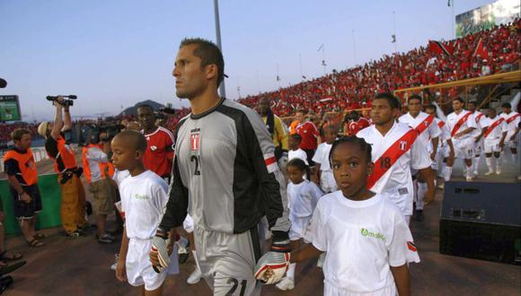 Leao Butrón fue titular en la selección peruana entre 2006 a 2009. (Foto: Lino Chipana / Archivo El Comercio)