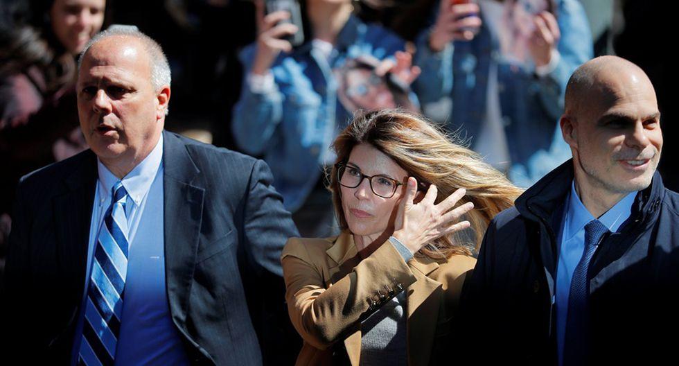 Lori Loughlin en su primera aparición pública tras escándalo por fraude en universidades de EE.UU. (Foto: Agencias)