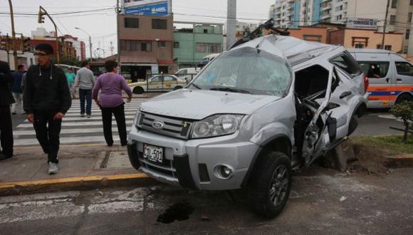 Estos son los distritos de Lima con más accidentes de tránsito