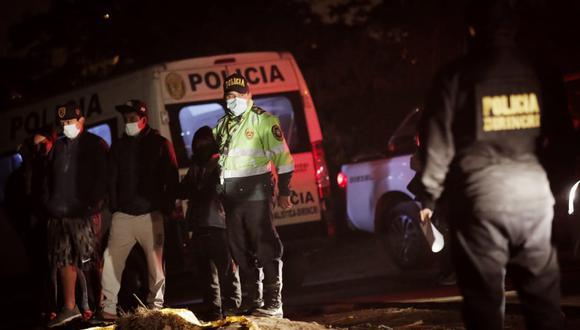 Joven de 21 años fue asesinado en un descampado de Puente Piedra. Foto: César Grados /@photo.gec