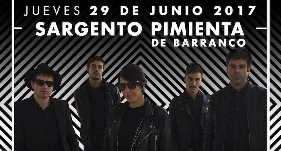 La banda Dorian tuvo una destacada participación en la quinta edición del Lima Indie Festival.