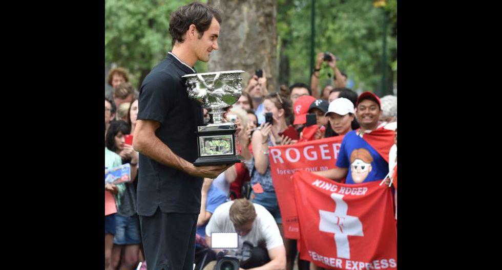 Roger Federer: el día después de hacer historia en Australia - 8