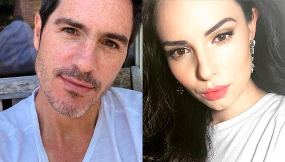El actor no dudó en lucirse con su nueva pareja, una joven modelo. (Foto: @mauochmann @paulinaburrola / Instagram)