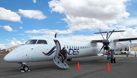 Andes Air entró a sector aerocomercial y volará a Jauja y Cusco