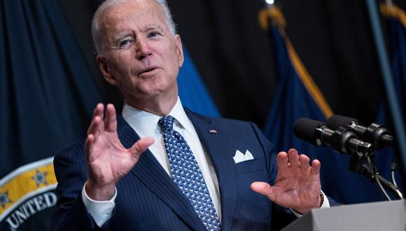 Joe Biden, presidente de Estados Unidos. (Foto: EFE)